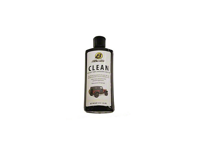 Bestop Soft Top Vinyl Window Cleaner - 8 oz. Bottle
