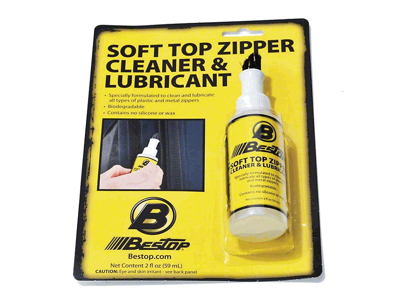 Bestop Soft Top Zipper Cleaner & Lubricant