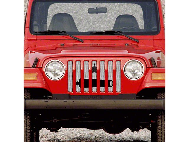 Grille Insert; Take It (97-06 Jeep Wrangler TJ)