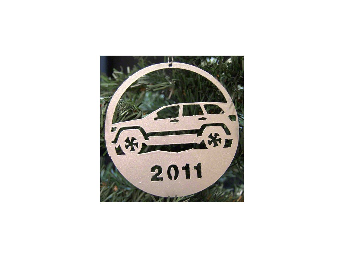 Jeep Christmas Ornament.2011 Jeep Grand Cherokee Christmas Ornament Red