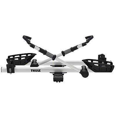 Thule 1.25 in. Receiver Hitch PRO Bike Carrier - Carries 2 Bikes (87-18 Jeep Wrangler YJ, TJ, JK & JL)