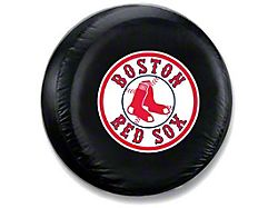 Boston Red Sox MLB Spare Tire Cover - Black - Large (87-19 Jeep Wrangler YJ, TJ, JK & JL)
