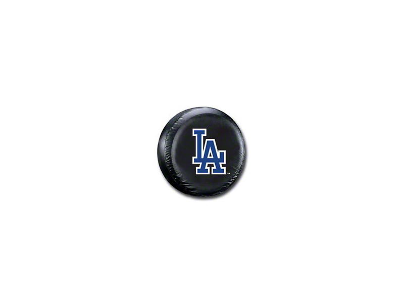 Jeep Wrangler La Dodgers Mlb Spare Tire Cover Black 87 18 Jeep