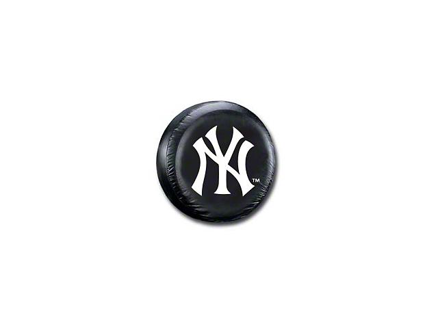 New York Yankees MLB Spare Tire Cover - Black (87-19 Jeep Wrangler YJ, TJ, JK & JL)