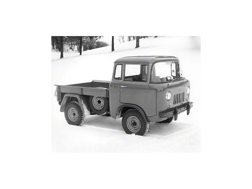 1956 Willys Jeep JC-150 Pickup Refrigerator Magnet