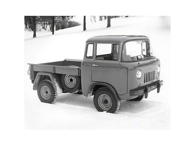 1956 Willys Jeep JC-150 Pickup Refrigerator Magnet