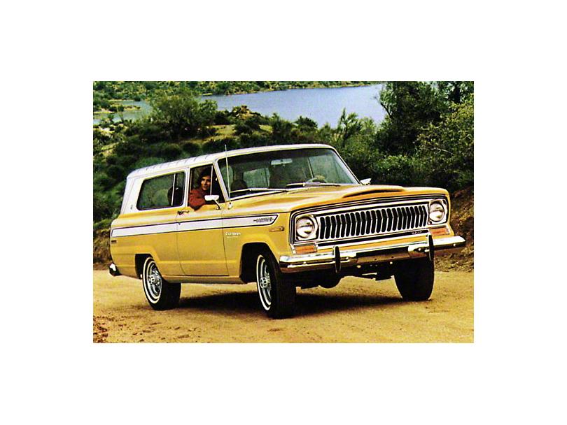 1974 AMC Jeep Cherokee 2 Door Refrigerator Magnet