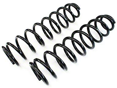 Teraflex 4 in. Coil Springs-rear pair (07-18 Jeep Wrangler JK)