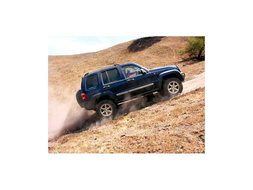 2007 Jeep Liberty Limited KJ Hill Climb Refrigerator Magnet
