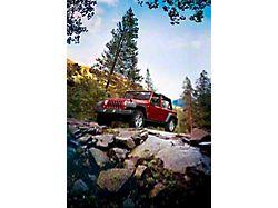 2007 Jeep Wrangler JK Unlimited Autumn Mountains Refrigerator Magnet