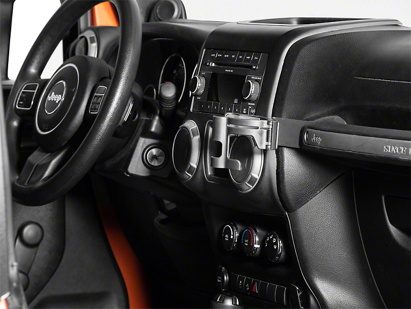 Alterum Grab Handle Cup/Phone Holder (11-18 Jeep Wrangler JK)
