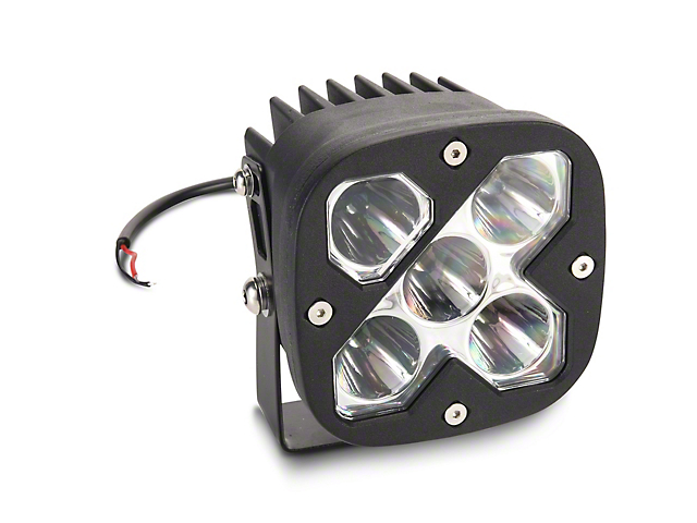 Raxiom 4.25-Inch Square High-Powered LED Light