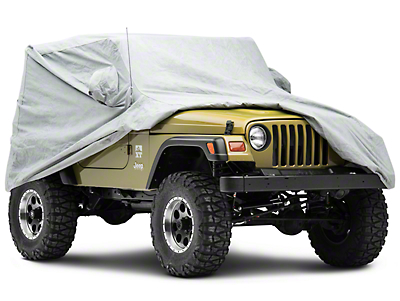 Smittybilt Full Climate Jeep Cover (87-06 Jeep Wrangler YJ & TJ, Excluding Unlimited)