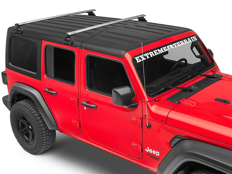 Rhino-Rack Jeep Wrangler Vortex RL100 2 Bar Roof Rack ...