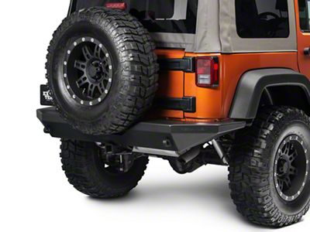 Teraflex RockGuard Outback Rear Bumper (07-18 Jeep Wrangler JK)