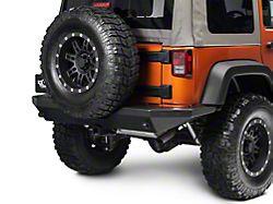 Teraflex Outback Rear Bumper w/o OEM Fog Light Mount (07-18 Jeep Wrangler JK)