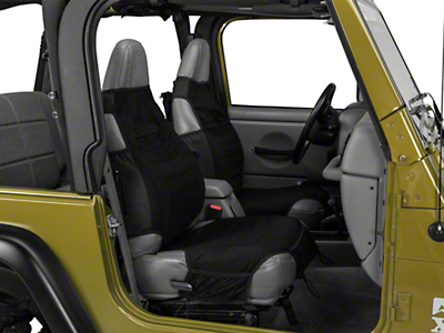 Smittybilt Katch-All SeatWare Vest Covers (87-02 Wrangler YJ & TJ)
