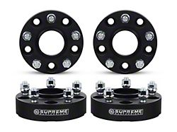 Supreme Suspensions 2-Inch Pro Billet Hub and Wheel Centric Wheel Spacers; Set of Four (07-18 Jeep Wrangler JK)