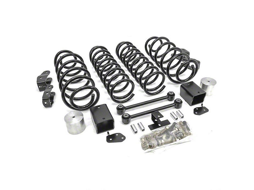 ReadyLIFT 3.5 in. Coil Spring Lift Kit (18-20 Jeep Wrangler JL, Excluding Rubicon)
