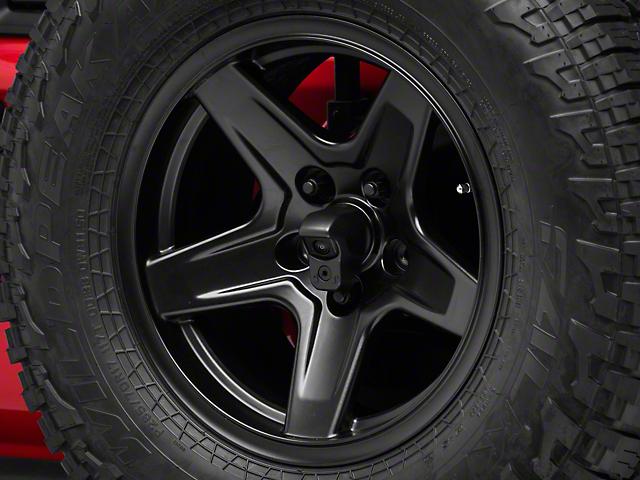 Backup Camera Bezel for Aluminum Wheels (18-20 Jeep Wrangler JL)