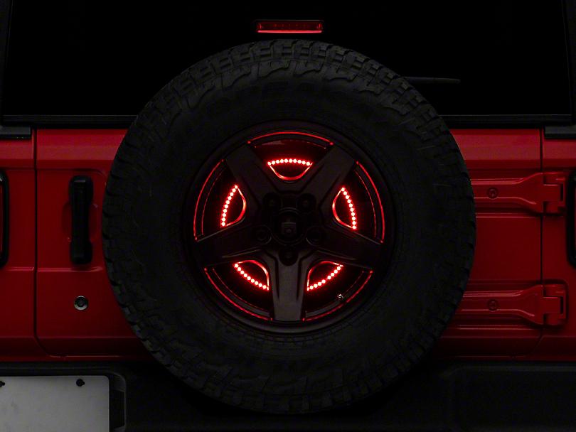 Rugged Ridge Spare Tire Brake Light LED Ring (18-19 Jeep Wrangler JL)