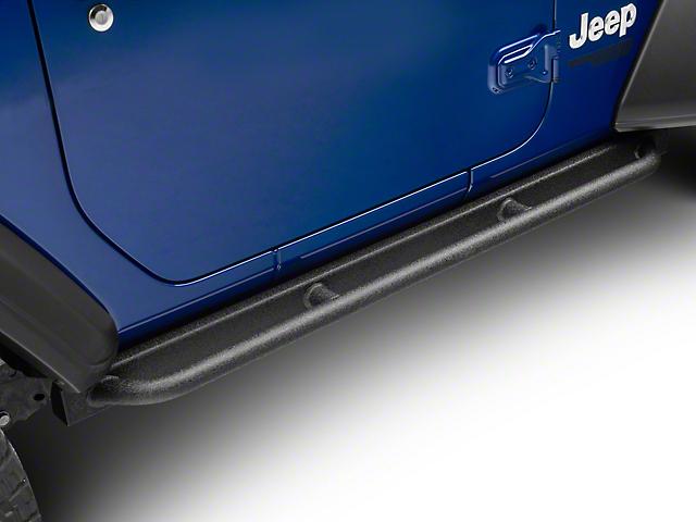 Barricade Enhanced Rubi Rails; Textured Black (18-21 Jeep Wrangler JL 2 Door)