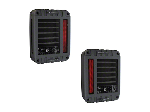 J.W. Speaker Model 279 LED Tail Lights (87-06 Jeep Wrangler YJ & TJ)