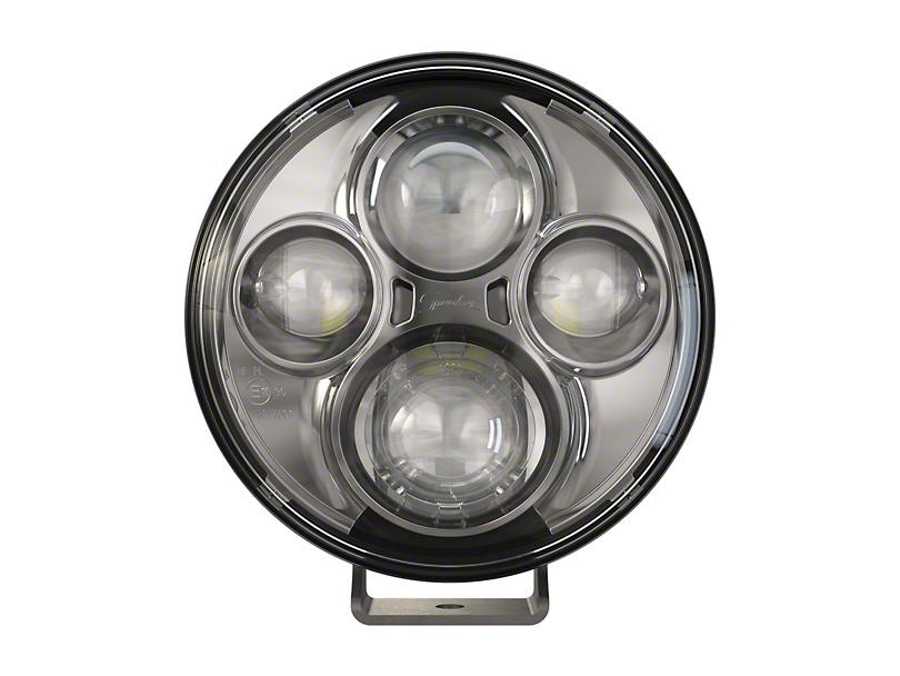 J.W. Speaker 7 in. Model TS4000 Round LED Lights - Chrome