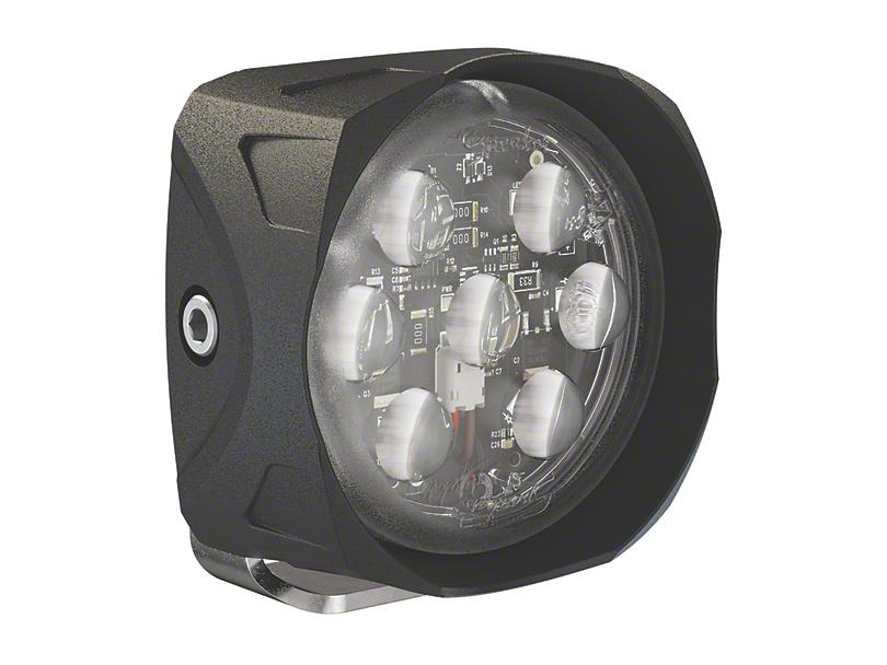 J.W. Speaker 3.5 in. Model 4418 Square LED Light - Trapezoid Beam