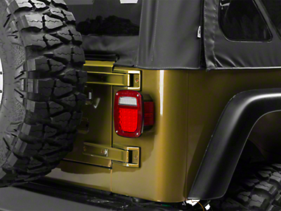 Rugged Ridge Led Tail Light Assembly Right Side (87-06 Jeep Wrangler YJ & TJ)