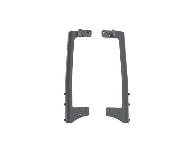 Havoc Offroad 50 in. LED Light Bar Windshield Mounting Brackets (07-18 Jeep Wrangler JK)