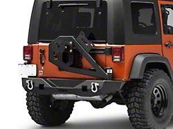 Havoc Offroad GEN 2 Aftershock Rear Bumper w/ Tire Carrier (07-18 Jeep Wrangler JK)