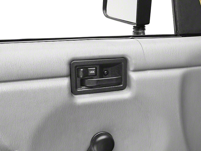 Omix-ADA Interior Door Handle - Left Side (87-06 Jeep Wrangler YJ & TJ)