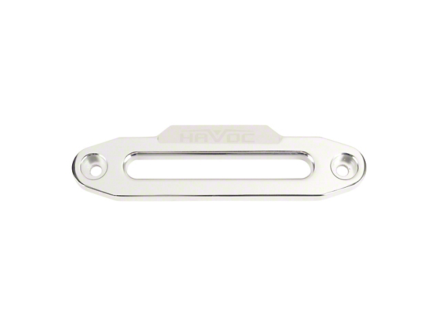 Havoc Offroad Hawse Fairlead for Synthetic Rope - Polished
