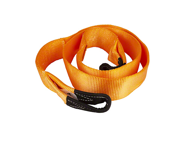 Havoc Offroad 4-Inch x 10-Foot Tree Saver Strap; 32,000 lb.