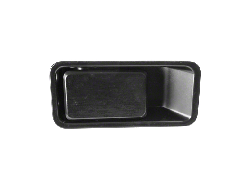 Omix-ADA Outer Half Door Handle - Driver Side (87-06 Jeep Wrangler YJ & TJ)