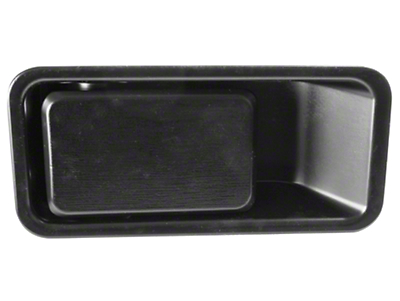 Omix-ADA Left Side Outer Door Handle Half-Door Model (87-06 Wrangler YJ & TJ)