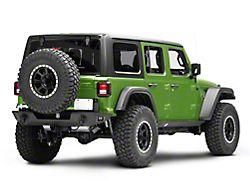 Deegan 38 Rear Bumper with Tire Carrier (18-20 Jeep Wrangler JL)
