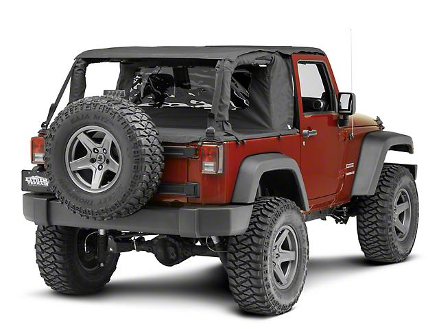 Suntop Cargo Top - Black Diamond (07-18 Jeep Wrangler JK 2 Door)