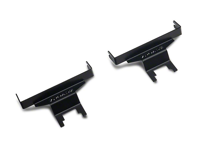 ZRoadz 3 in. LED Light Cube A-Pillar Mounting Brackets (18-19 Jeep Wrangler JL)