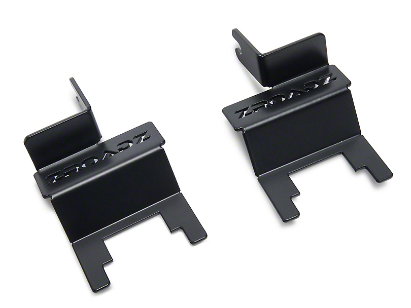ZRoadz 30 in. Slim LED Light Bar Rear Window Hinge Mounting Brackets (18-19 Jeep Wrangler JL)