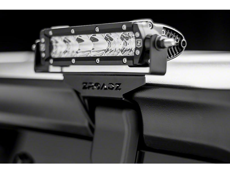 ZRoadz Two 6 in. LED Light Bars w/ Rear Window Hinge Mounting Brackets (18-19 Jeep Wrangler JL)