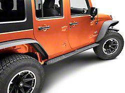 Deegan 38 HD Rock Sliders with LED Rock Lights (07-18 Jeep Wrangler JK 4 Door)