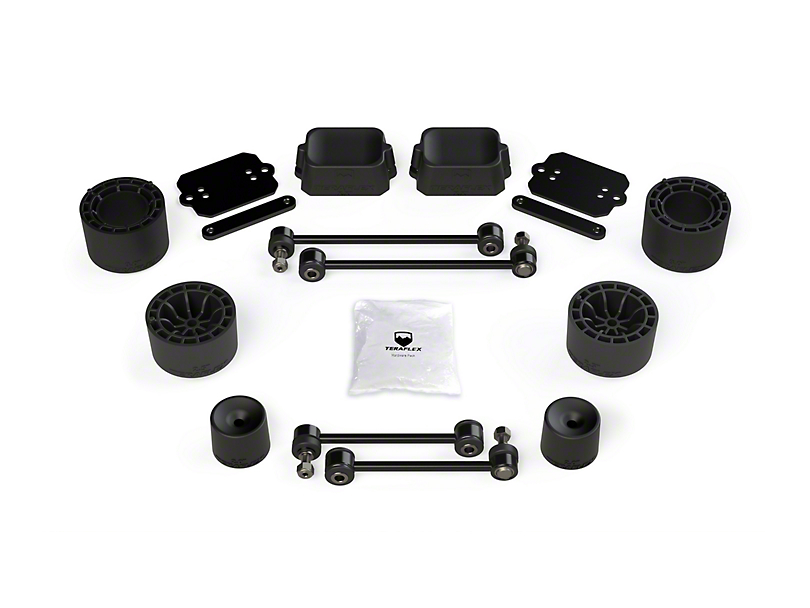 Teraflex 2.50-Inch Performance Spacer Lift Kit (18-20 Jeep Wrangler JL Rubicon 4 Door)