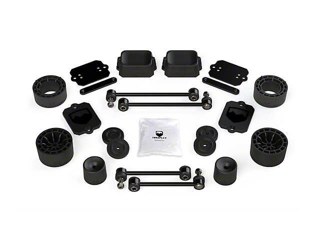 Teraflex 2.5 in. Performance Spacer Lift Kit (18-20 Jeep Wrangler JL 2 Door, Excluding Rubicon)
