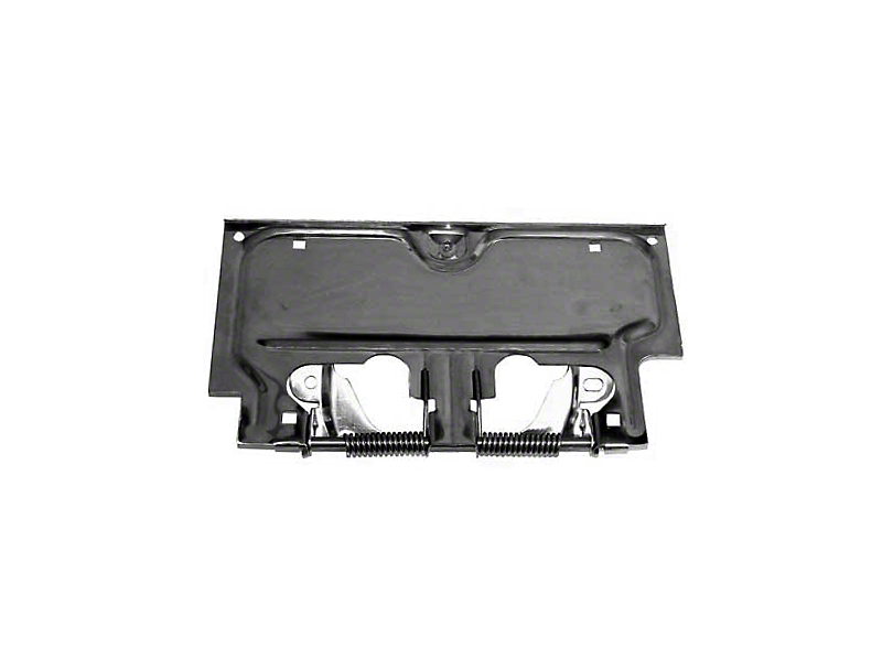 Rugged Ridge License Plate Bracket - Stainless Steel (87-95 Jeep Wrangler YJ)
