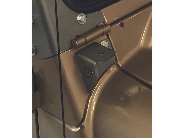 A-Pillar LED Cube Light Mounting Brackets (97-06 Jeep Wrangler TJ)
