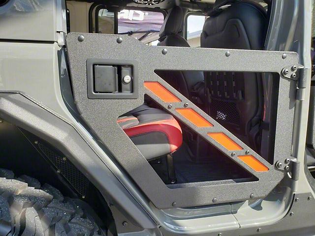 Hammerhead Rear Trail Doors (07-18 Jeep Wrangler JK 4 Door)