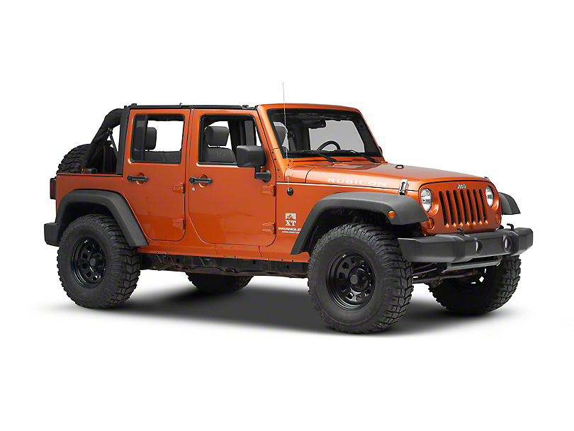 Smittybilt OE Style Door Surrounds (07-18 Jeep Wrangler JK 4 Door)