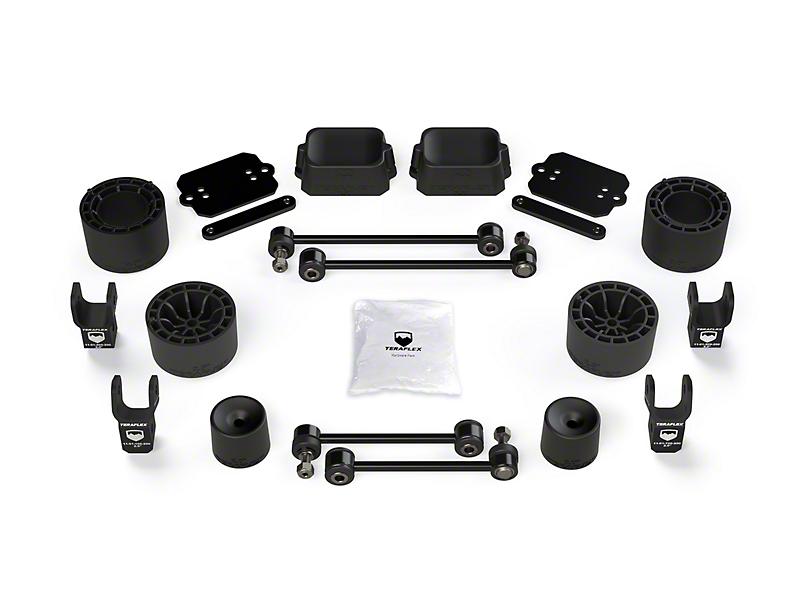 Teraflex 2.5 in. Performance Spacer Lift Kit w/ Shock Extensions (18-20 Jeep Wrangler JL Rubicon 4 Door)